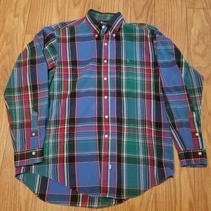 Ralph Lauren Polo Heavy Flannel Shirt sz L